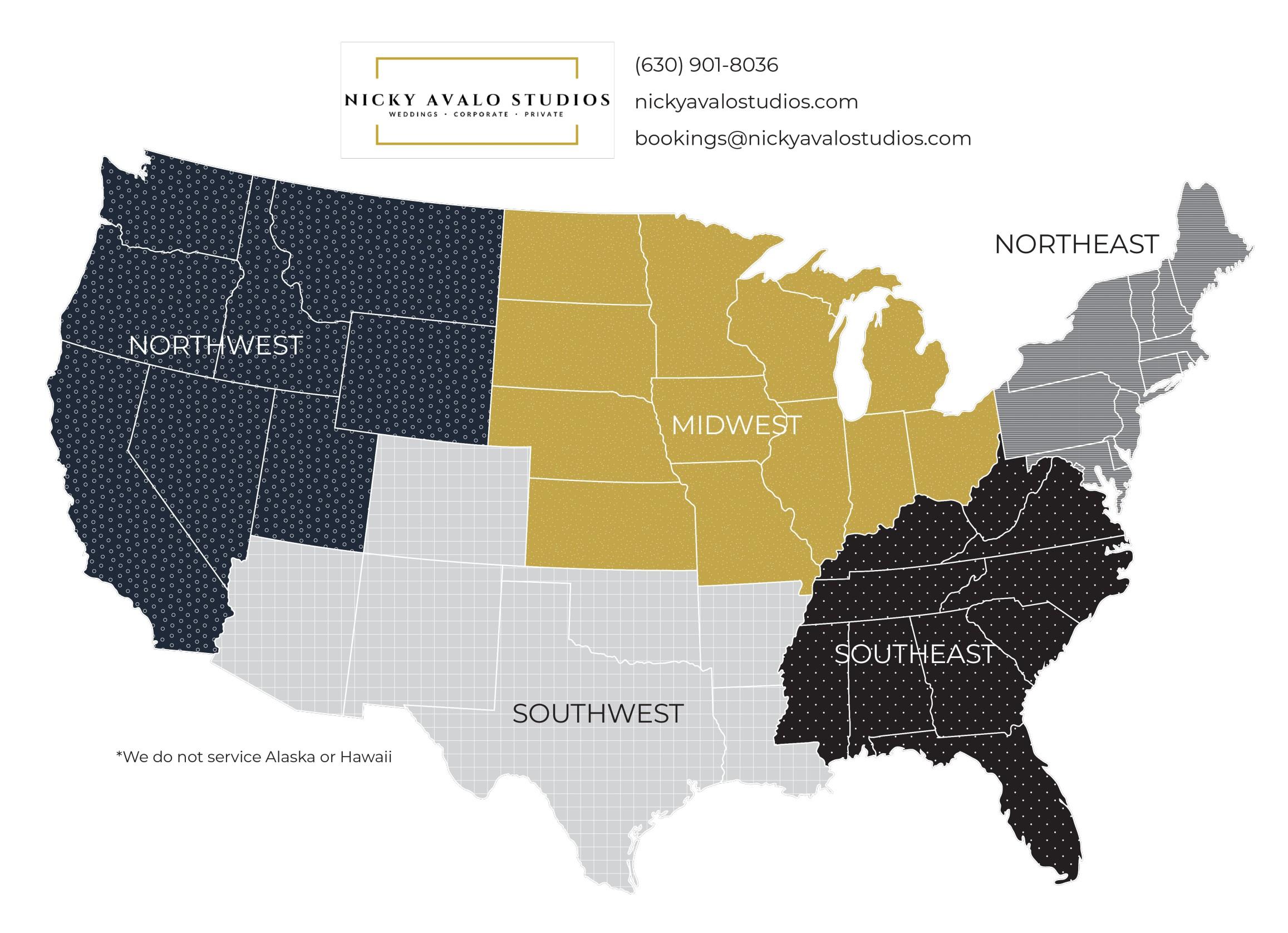 DJ Region Map NAS